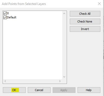 Selected Layers Check