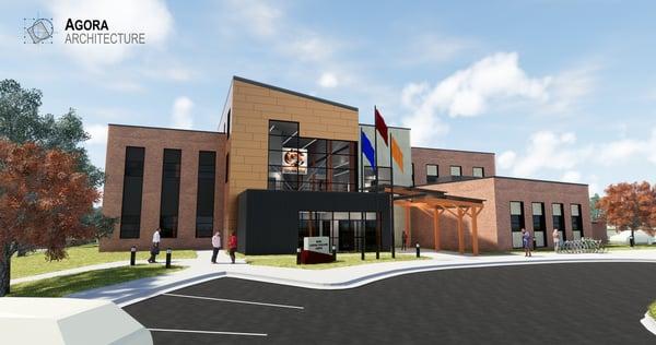 Agora Architecture Cowley College Project