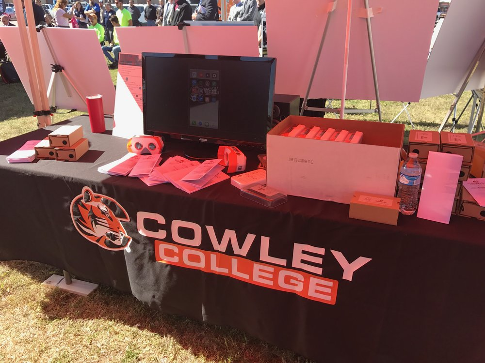 Cowley College Fair VR