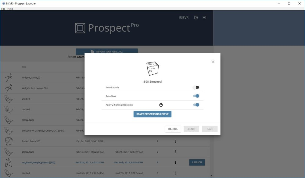 Prospect VR