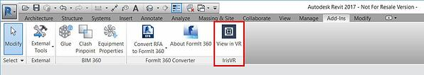 View in VR Button
