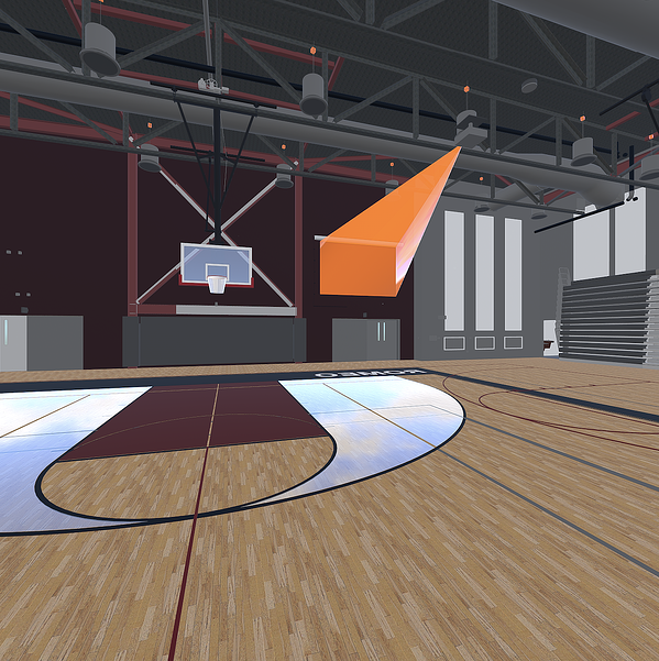 The Romeo High School Gym, captured from within Prospect. You can view this panorama in  Scope  using the share code  24KJ5W .