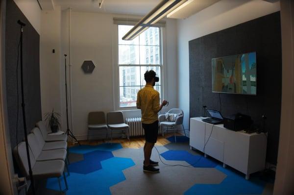 Room Scale VR Setup Office