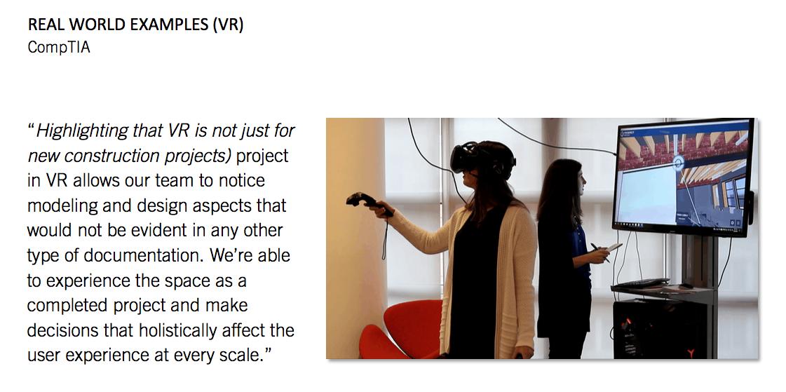 VR Design Review CompTIA