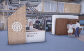 In-VR view of TreeHouse's store.