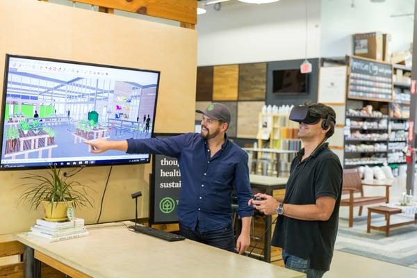 Treehouse Oculus Rift VR Store