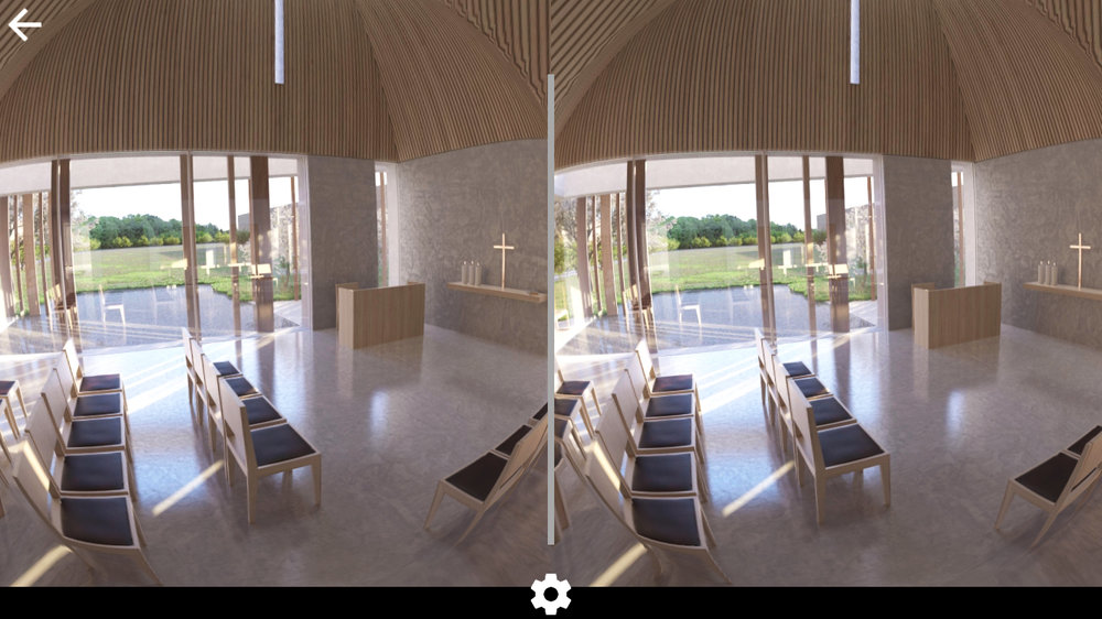 Godstrup Kirke Scope VR