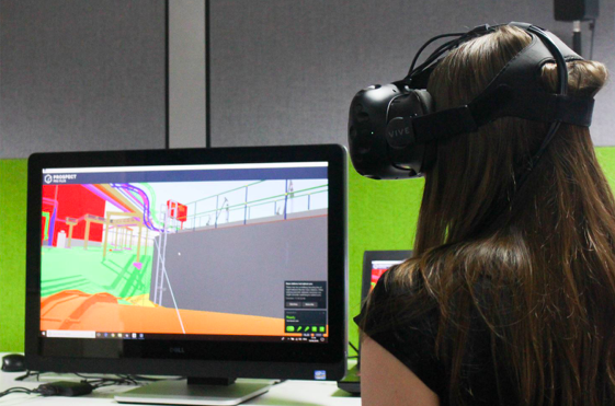 VR setup HTC Vive