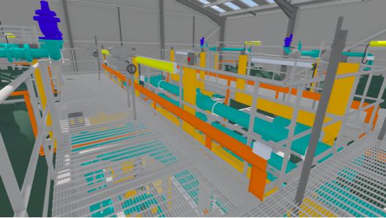 CAD model in VR
