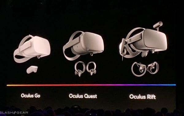 Oculus Quest vs Oculus Rift