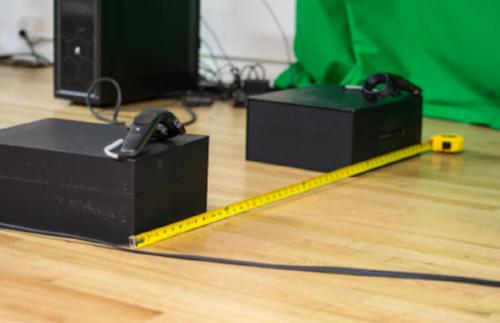Vive Box Ruler Test