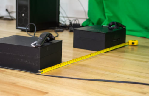 Vive Box Ruler Test