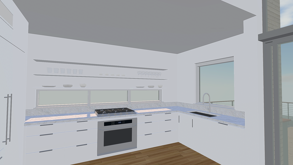 Kitchen in VR