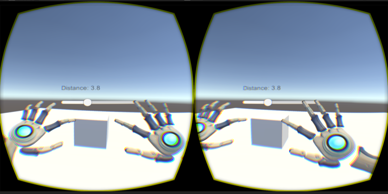 Leap Motion Oculus Rift