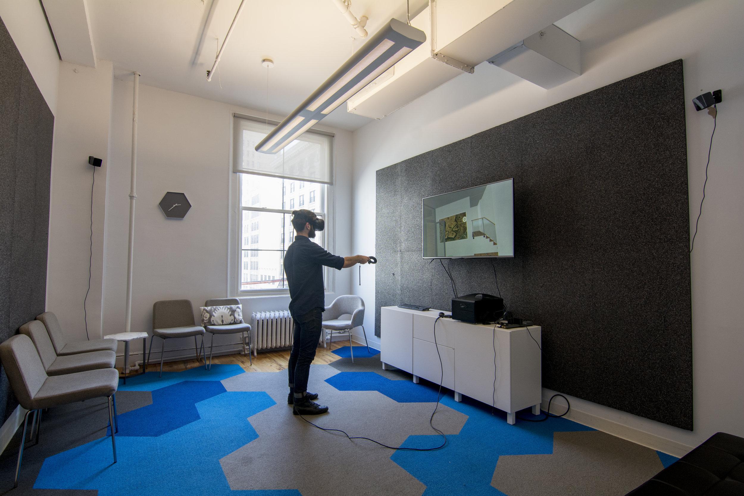 VR for Architecture demo room